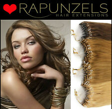 "Micro loop hair extensions, micro ring, easy loop, micro bead 18"" 1 gram bonds"