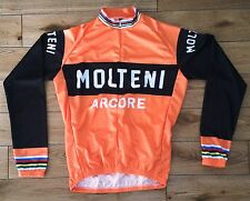 Vintage style cycling jersey - Eddy Merckx Molteni replica - SALE 20% OFF