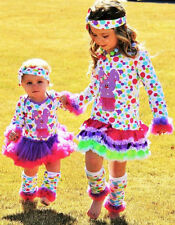 SALE!!!! GIRLS POLKA DOT EASTER BUNNY BOUTIQUE DRESS FREE SHIPPING