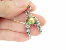 Cute Mini Golden Snitch Wings 'harry potter' Slider European Charm Fits Bracelet
