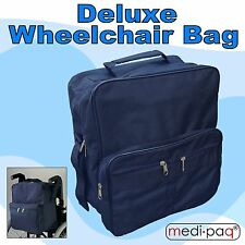 Wheelchair Bag - Shopping Mobility Storage Holdall Handle Scooter Walker Frame