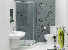BUBBLES Wall Art Stickers (decals) Waterproof, will work on tiles/glass/ceramics