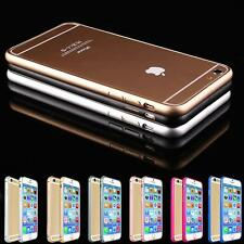 UltraThin Aluminium Alloy Metal Bumper Frame Case Cover for Apple iPhone SE 6 6S