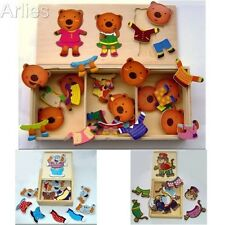 Wooden Boxed Jigsaw Puzzles - Educational