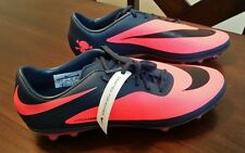 Womens NIKE HyperVenom Phatal FG Soccer Cleats Armory Blue/Atomic Red
