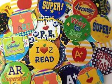 "School subjects/Education 1"" circle PRECUT Bottle Cap Images - FREE SHIPPING!!!"
