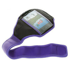 Purple Running Sport Armband GYM Skin Case Cover for Samsung Galaxy Phones 2015
