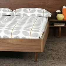 ORLA KIELY - Grey Scribble Stem Bedding Sets -Single, Double, King & Super King