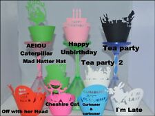 ALICE IN WONDERLAND THEME PARTY CUPCAKE WRAPPERS x12 MAKE YOUR CUPCAKES LOOK FAB