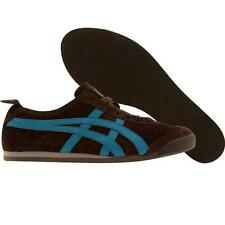 Asics Womens Onitsuka Tiger Mexico 66 HL474-2843 (brown / blue coral) HL474-2843