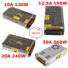 AC 110V-240V to DC 12V 10A 12.5A 20A 30A Power Supply Transformer for Led Lights