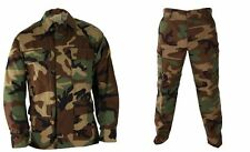 Woodland Camo Tactical BDU Shirt Pants 60/40 Rip Stop Genuine Gear by Propper