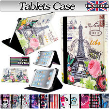 UNIVERSAL 8 inch FOLDING FOLIO LEATHER STAND CASE COVER FOR ANDROID TABLET PC 8""