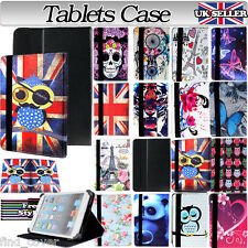 "UNIVERSAL 7"" FOLDING FOLIO LEATHER STAND CASE COVER FOR ANDROID TABLET PC 7 inch"