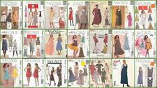 McCalls Sewing Pattern OOP Misses Dress with Plus Size You Pick