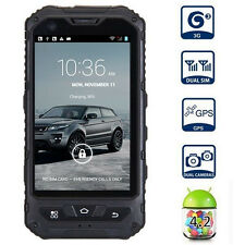 A8 Land Rover Waterproof Android 4.2 Dual-Core Wifi GPS Rugged Smartphone