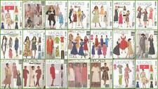 OOP McCalls Sewing Pattern Misses or Womens Plus Size Dresses  You Pick