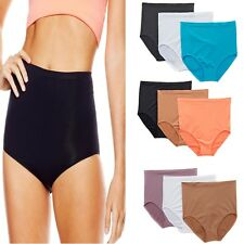"Rhonda Shear 3 Pack ""Ahh"" High-Waist Seamless Panty 242899  SALE $18"