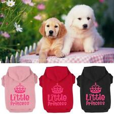 Small Pet Sweatshirt Costume Dog Cat Coat Warm Jumpsuit Clothes Hoodie Sweater