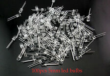 100pcs Super Bright 5mm Round Head 2pin Led Buld light emitting diode R G B Y W
