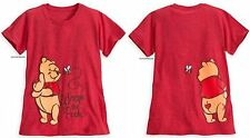 WINNIE THE POOH HEATHERED TEE FOR WOMEN ~DISNEY STORE~ FREE SHIPPING