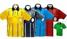 Soccer referee jersey Gold  Red  Black Blue Green