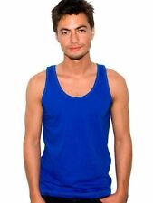 AMERiCAN APPAREL 2408 SIMPLE CREW NECK FINE JERSEY UNISEX WOMENS MENS TANK TOP