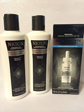 NIOXIN OPTIMIZING SHAMPOO, CONDITIONER, REGROWTH TREATMENT FOR MEN OR WOMEN