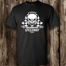 Speedway 2016 T shirt Mens -- Motor Sport British motorbike tapes up fan 2016