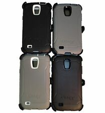 Otterbox Defender Case For Samsung Galaxy S4 Active With Belt Clip