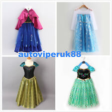 DISNEY FROZEN ANNA ELSA PRINCESS COSTUME. BRAND NEW HIGH QUALITY PARTY DRESS