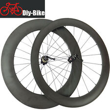 60mm+88mm clincher carbon bicycle road bike wheels carbon cycling wheelset