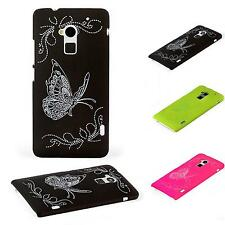 Luxury Butterfly Theme Hard Shell Cover Proof Case Heavy Impact Stylish Design