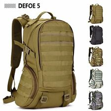 Molle Backpack Military 3P Gym School Trekking Ripstop Woodland Tactical Gear