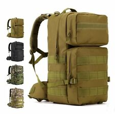 55L Large Outdoor Camo Waterproof Mountaineering Tactical Army Travel Backpack