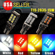 1 4 8pcs CAN-BUS T15/T10/921/912 High Power SAMSUNG 15W LED Backup Reverse Light