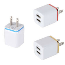 2.1A+1A USB 2-Ports US Plug AC Wall Charger Adapter For iPhone iPOD Samsung HTC