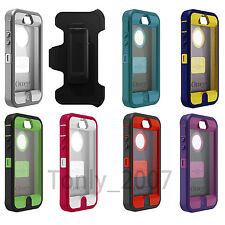 100%OEM OtterBox Defender Series Case and Holster for iPhone 5/5S