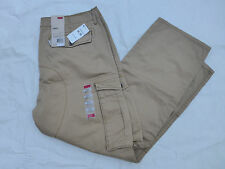 NWT MENS LEVIS CARGO I RELAXED FIT PANTS $64 KHAKI 12462-0010