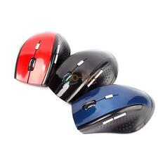 Nuovo 2.4GHz Senza Fili Gaming Mouse Mice Per Laptop Bluetooth Ottico Mouse OZ
