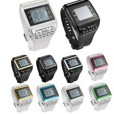 Unlocked Touch Screen keypad GSM Dual SIM Camera Wrist Watch Mobile CellPhone Q9
