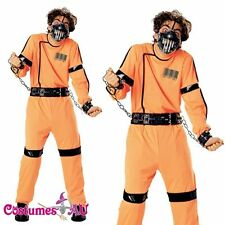Adult Horror Mens Madman Halloween Fancy Dress Rubies Licenced Costume