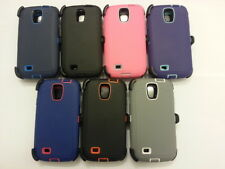 NEW! Defender Series Case & Belt Clip Holster for Samsung Galaxy S4