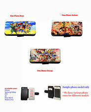 One Piece Cartoons Anime leather phone case Samsung S3,S4,S5, Mini,Note 1,2,3,4