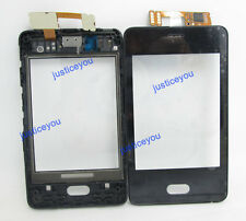 digitizer touch screen panel front housing cover for Nokia ASHA 501