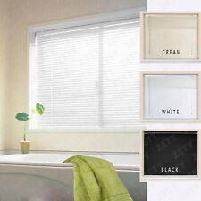 PVC Venetian Window Blinds 3 Colour Easy Fit Multiple Sizes 130/160/210cm Length