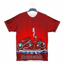 Akira Tron Manga 3d All Over Printed T-shirt S100