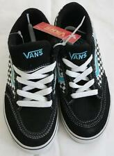 VANS Sneakers Skate Shoes OLD SKOOL Multi checker Black White Teal Lace Youth