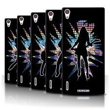 STUFF4 Back Case/Cover/Skin for Huawei Ascend P7 LTE/Rock Star Pose
