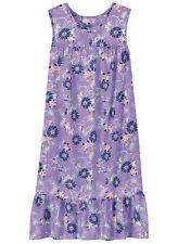 NEW Lilac Floral  Sun House Dress Lounger Shift MuMu  4X 5X 6X Womens PLUS